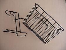 Cesto bicicletta anteriore cablata shopping bagagli Carry & Maniglia & STAFFA BICI