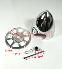 "MIRACLE 4.5""/114.30mm SPECIALE FORATO standard in alluminio Prop Spinner con 2 LAME"