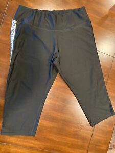 Bebe Sport Athletic Capris Pants Woman's Size 2X