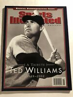 Sports Illustrated BOSTON RED SOX Ted WILLIAMS 1918-2002 SPECIAL Commemorative