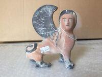 Riproduzione statua LEKYTHOS TERRACOTTA 15 cm STLK10C greco romano antica