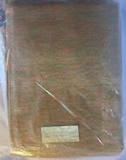 """Vintage 1950's Draperies Curtains 2 Panels Totaling 50"""" wide x 54"""" Long, Bronze"""