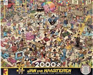 Ceaco Jan Van Haasteren Crowd Pleasers TOY AHOY 2000 pcs Jigsaw Puzzle