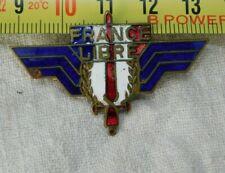 """FORCES  FRANCAISES LIBRES INSIGNE """" MOUSTIQUE""""  numéroté #.32197"""