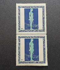 Exhibition the Electricity Munich 1911 Germany Cinderella Poster Stamp (7589)