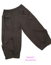 Layered Look Oversized Jersey-Pants Flap Buttons Pockets XXL, XXXL, XXXXL