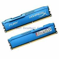 DDR3-1866MHz 16GB 2x 8GB Pc3-14900 DIMM FURY HyperX For Kingston Desktop memory