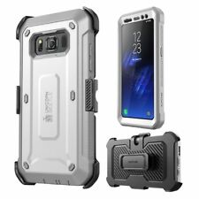 Samsung Galaxy S8 Active Heavy Duty Belt Clip Holster Built-in Screen Protector