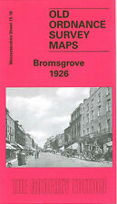 OLD ORDNANCE SURVEY MAP BROMSGROVE 1926