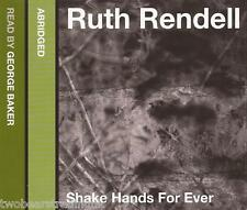 SHAKE HANDS FOR EVER - Ruth Rendell (CD Audio Book) (3 Discs/Abridged)