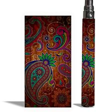 Battery Skins eGo/Vision/Itaste Clk/Other Cover Vinyl Vape Wraps -PAISLEY 2