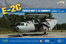 Kinetic 1/48 Scale French Navy E-2C Hawkeye Plastic Model Kit K48015