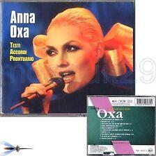 "ANNA OXA ""I GRANDI SUCCESSI"" RARO CD + TESTI ACCORDI PRONTUARIO - SIGILLATO"