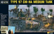 WARLORD GAMES 28MM: WWII TYPE 97 CHI-HA JAPANESE MEDIUM TANK (PLASTIC) 16002