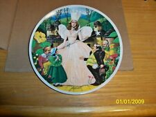 "Wizard Of Oz Collector Plates,""Follow The Yellow Brick Road"" Sixth Issue in S."