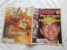 STAR Magazine--AUGUST 17,1999-WHAT WILL HAPPEN TO JFK JR'S &100 MILLION ESTATE?