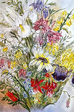 Sulamith Wulfing 1960 BOUQUET of FLOWERS Professional Matte Print Ready to Frame
