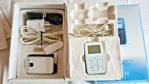 Creative Zen Micro 5GB White, Original Box & Accessories