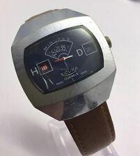 Sicura Mechanical Hand Winding Jump Hour Date Case 36mm X 43mm Mens Watch
