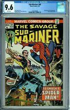 SUB-MARINER 69 CGC 9.6 SPIDER-MAN Cvr FORCE app DR STRANGE Marvel 1974 NEW CASE