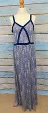 Linea weekend long strappy jersey sundress UK 12 ink blue Summer casual beach