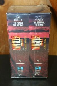 """Stephen King's """"The Stand"""" ~ 1994 4 VHS Box Set ~ Brand New"""