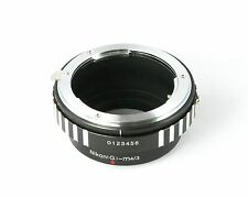 NIKON F Ai (G) Mount Lens to Micro 4/3 M4/3 Adapter Ring, Olympus     - AUSPOST