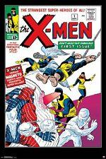 X-MEN ~ #1 COVER ~ 24x36 COMIC ART POSTER ~ Marvel Xmen Stan Lee Jack Kirby