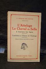 L'ATTELAGE, LE CHEVAL DE SELLE À TRAVERS LES ÂGES. HISTOIRE DE L'ESCLAVAGE. CHAR