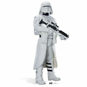 Star Wars The Force Awakens Snowtrooper Lifesize Cardboard Cutout With Stand