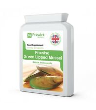 Green Lipped Mussel 500mg High levels of GlycoProteins to support Osteoarthritis