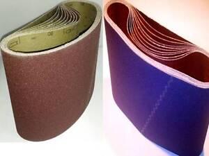 ALBIS Schleifbänder Gewebeschleifbänder Korund + Zirkon 750 x 200 mm K16 - 120