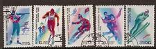 Rusia SG5830/34 1988 Juegos Olímpicos de Invierno F/Usado