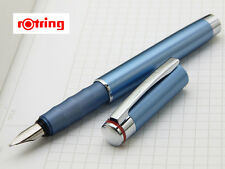 ROTRING ESPRIT  SPECIAL EDITION TELESCOPIC FOUNTAIN PEN CELESTE BLUE NEW IN BOX