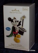 2012 Hallmark MAGICIAN MICKEY #1 Mickey's Movie Mouseterpieces Ornament Series