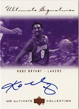 2000-01 Ultimate Collection KOBE BRYANT Auto Bronze Signatures #d 200