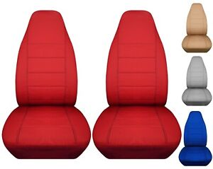 Front set car seat covers fits Tesla Model 3, Model S and Model X  2012-2019