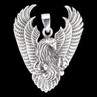 Phönix Anhänger 925er Silber Symbol Schmuck - NEU