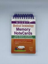 Mosby'S Medical Terminology Memory Notecards Second Edition Visual Mnemonic