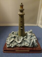 Oneida Studio Lighthouse Point Collection, Minots Ledge Ma, Lighthouse Miniature