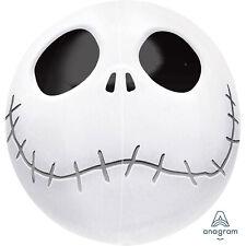 Halloween Orbz Jack Skellington Foil Balloons Nightmare Before Xmas Decoration