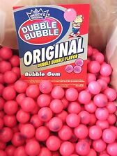 Dubble Bubble Original Pink 1928 Gumballs  2  Lbs