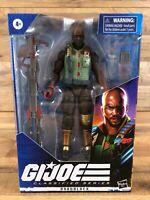 "G.I. Joe Classified Series Roadblock 6"" Action Figure 01 Wave 1 Hasbro New"