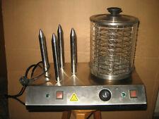 Bartscher Hotdog Hot Dog Maker Wurst Kocher mit Brötchen Toaster Typ: LY200602