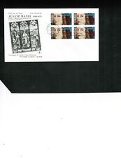 CANADA 1973  JEANNE MANCE  (FOUNDER**) BL/4 on FDC  #615 LOT 729