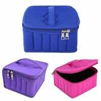 Portable 30 Bottles Essential Oil Carrying Case Holder Storage Bag Organizer US