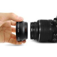 52MM 0.45 x Wide Angle Macro Lens for Nikon D3200 D3100 D5200 D5100 SU
