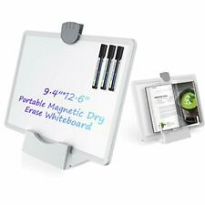 Abovetek Small Dry Erase White Board For Desk 94 X126 Portable Desktop Wh