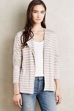 Anthropologie Bordeaux Reading Room Cardigan M Stripes NWT
