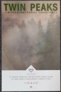 Twin Peaks Music From the Limited Event Series Soundtrack 2017 PROMO POSTER